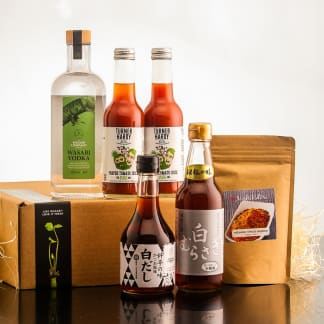 Wasabi Vodka Bloody Mary Cocktail Kit