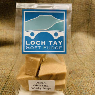 Loch Tay Soft Fudge - Dewar's White Label Whisky Fudge
