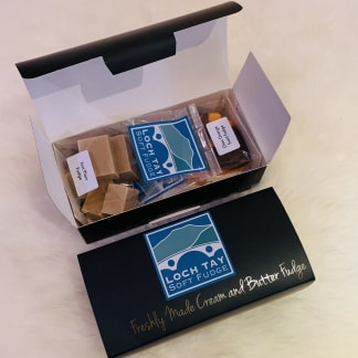 Loch Tay Soft Fudge - Duo Gift Box