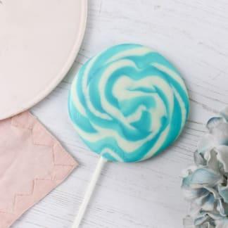 Blueberry Vanilla Giant Lollipop