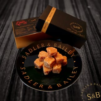 Deluxe Duo Gift Box - Clotted Cream & Salted Caramel Fudge