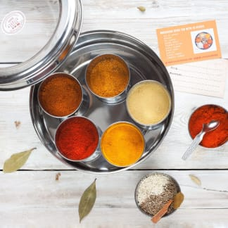 Moroccan Spice Collection with 10 Spices & Storage Tin