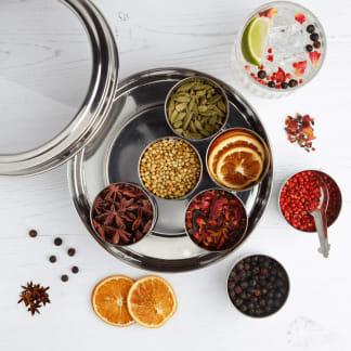 Gin Botanicals Tin with 7 Botanicals