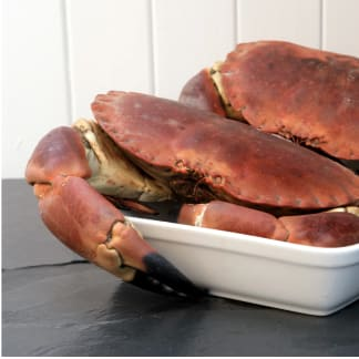Whole Cooked Male Crab 1.5kg -1.8kg