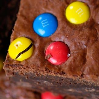 M & M Brownie