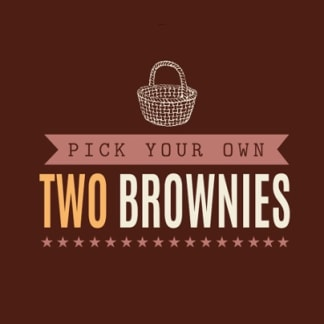 Pick & Mix Two Brownies