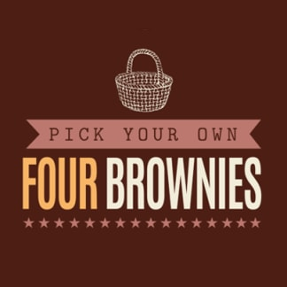 Pick & Mix Four Brownies