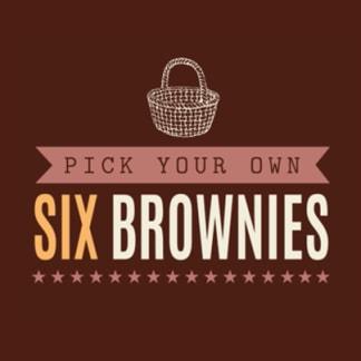 Pick & Mix Six Brownies