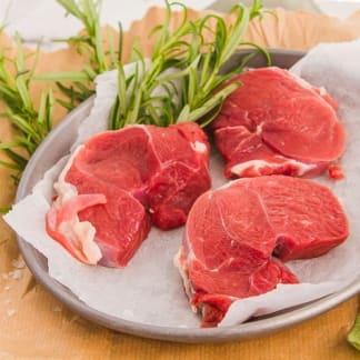 Goat Leg Steaks