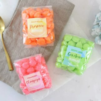 Set of 3 Boozy Bubble Sweets