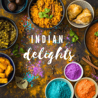 Curry Gift Making Kit Hamper - Indian Delights