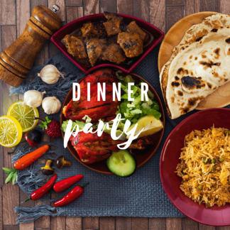 Curry Gift Hamper - Dinner Party Range