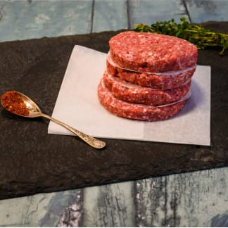Organic Veal and Fig Burgers