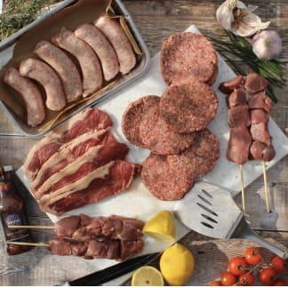 Organic BBQ Meat Box - WITH FREE MASTERCHEF APRON