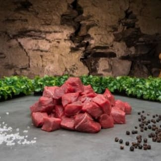 Belted Galloway Diced Beef