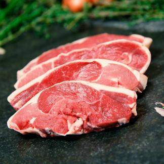 Salt Marsh Lamb Steaks