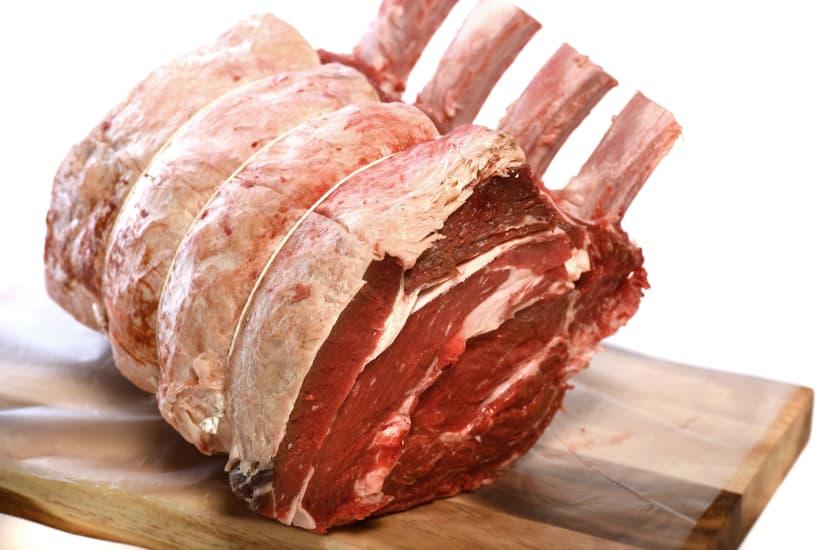 Native Gold Scotch Beef Rib Roast on the Bone