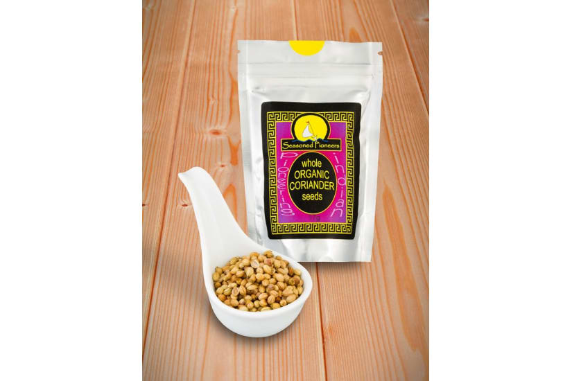 Coriander Seeds Organic, Whole