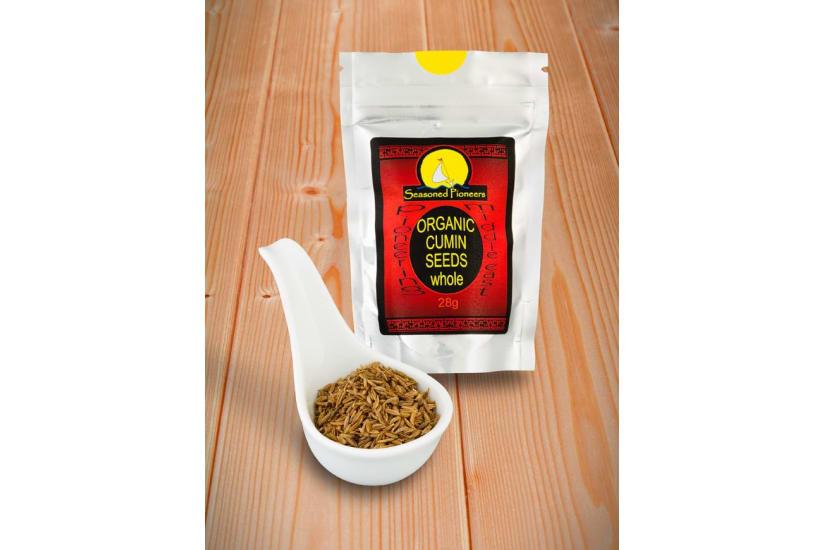 Cumin Seeds White, Organic Whole