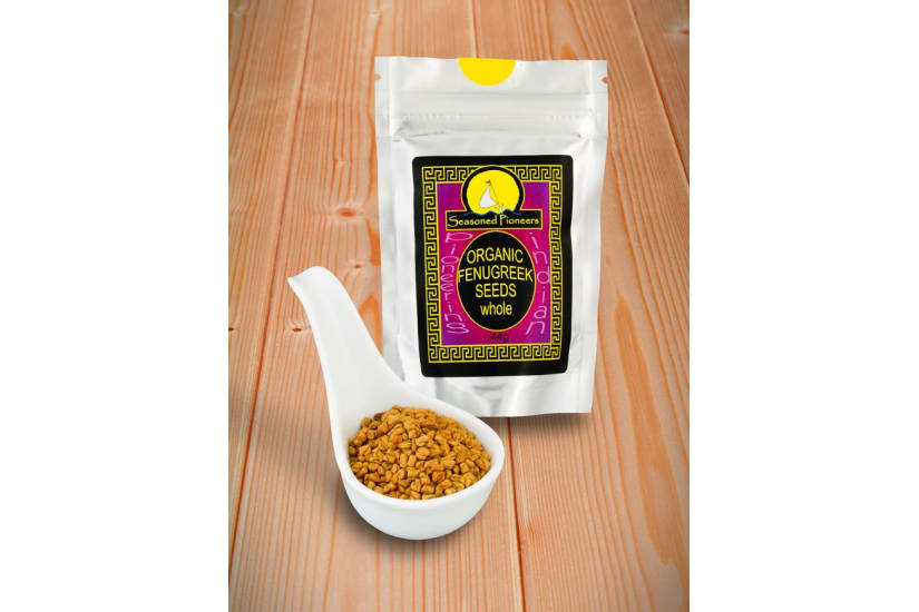 Fenugreek Seeds Organic, Whole