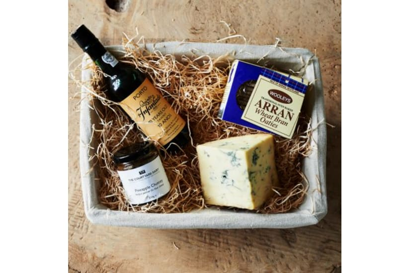 Stichelton and Port Hamper