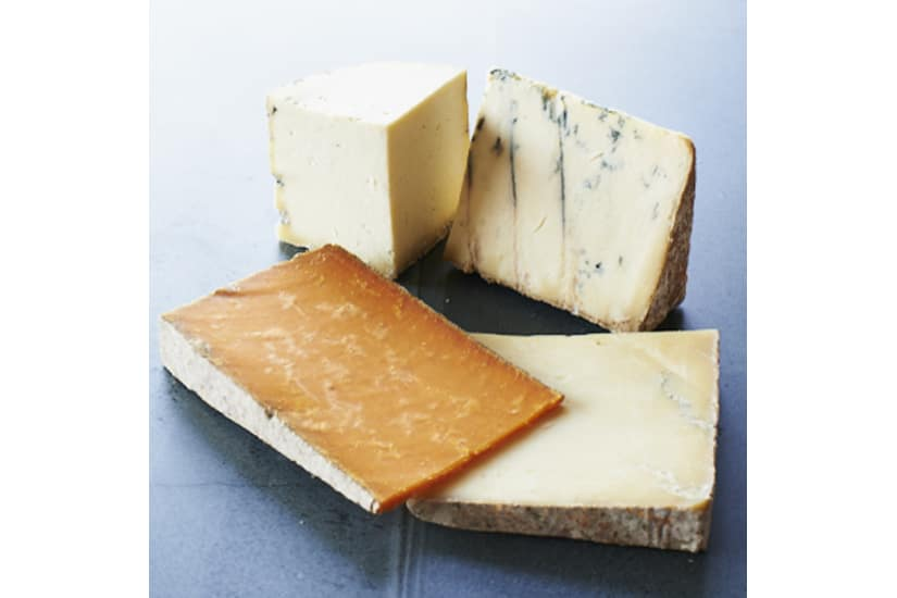 Traditional British Cheese Selection