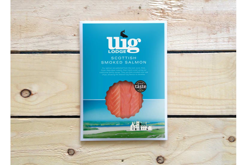 Hand Sliced Smoked Salmon Pack Large