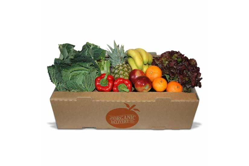 Large Organic Fruit & Vegetable Box