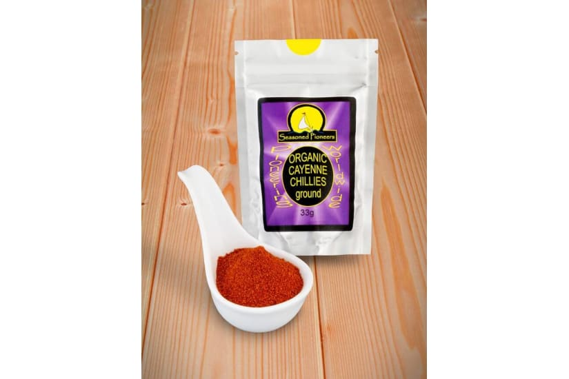 Cayenne Chilli Organic, Ground