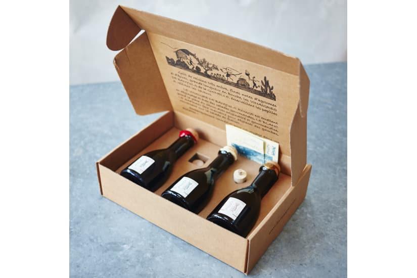 Banyuls Vinegar Gift Pack (Red, White, Saffron)