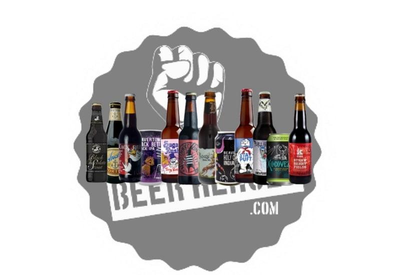 Hand Selected Seasonal Dark Beer Gift 12 Pack