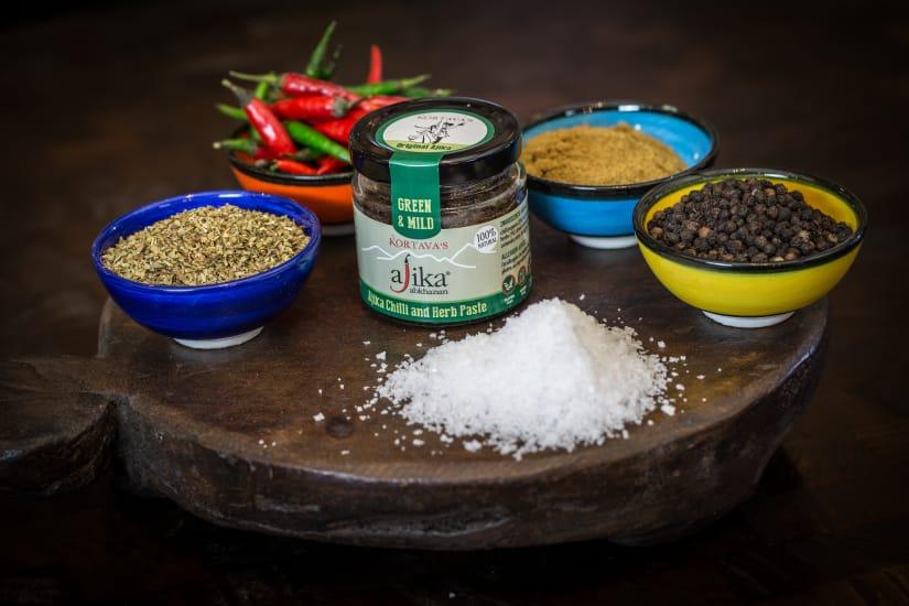 Ajika Green & Mild Chilli & Herb Paste