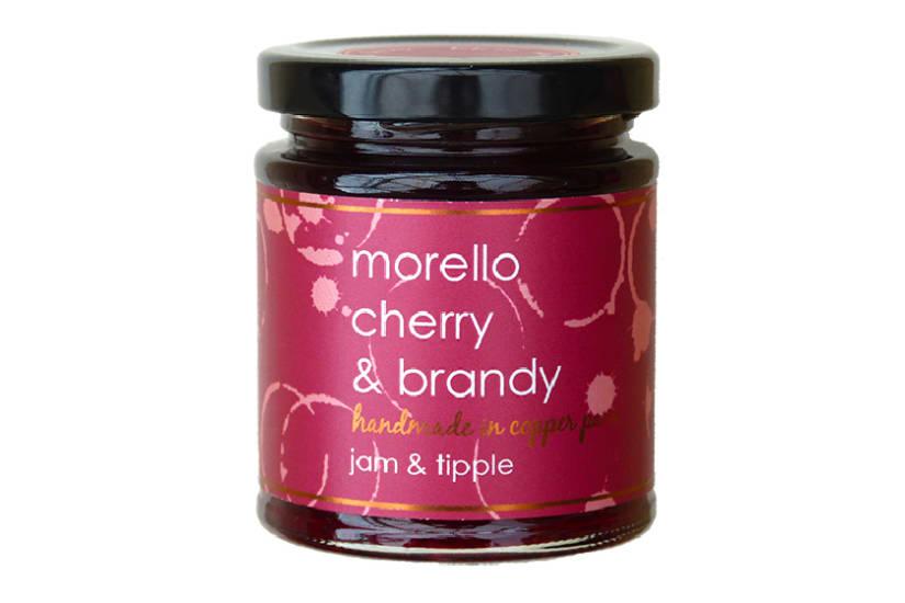 Cherry & Brandy Jam