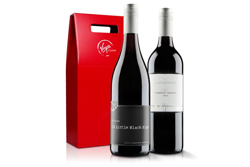 Red Wine Duo (Red Gift Box)
