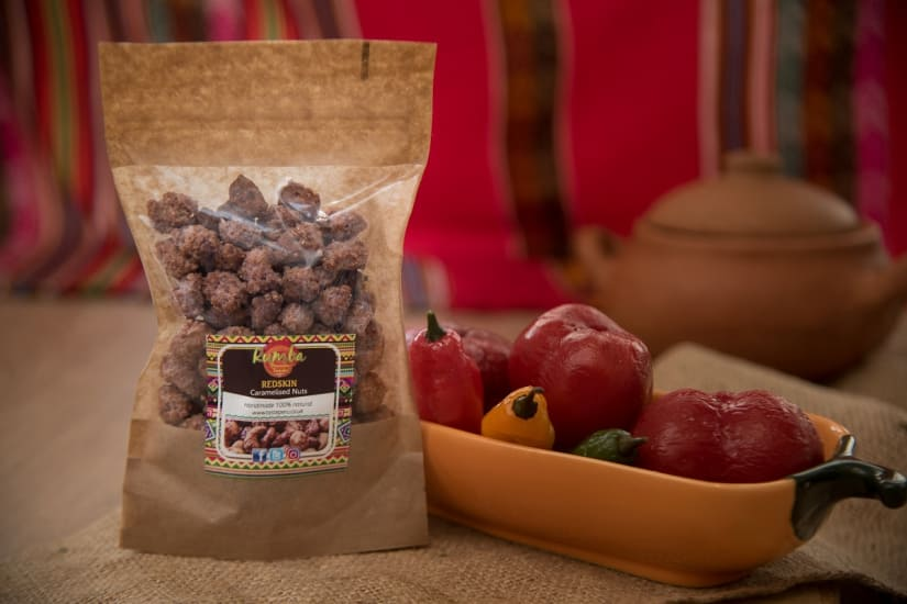 Rumba Redskin Caramelised Peanuts