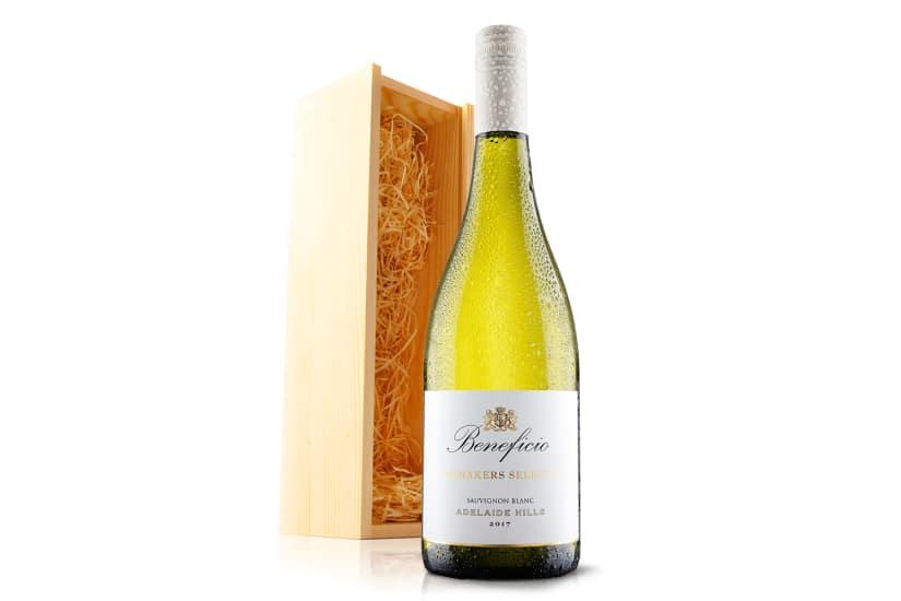 Australian Sauvignon Blanc in Wooden Gift Box