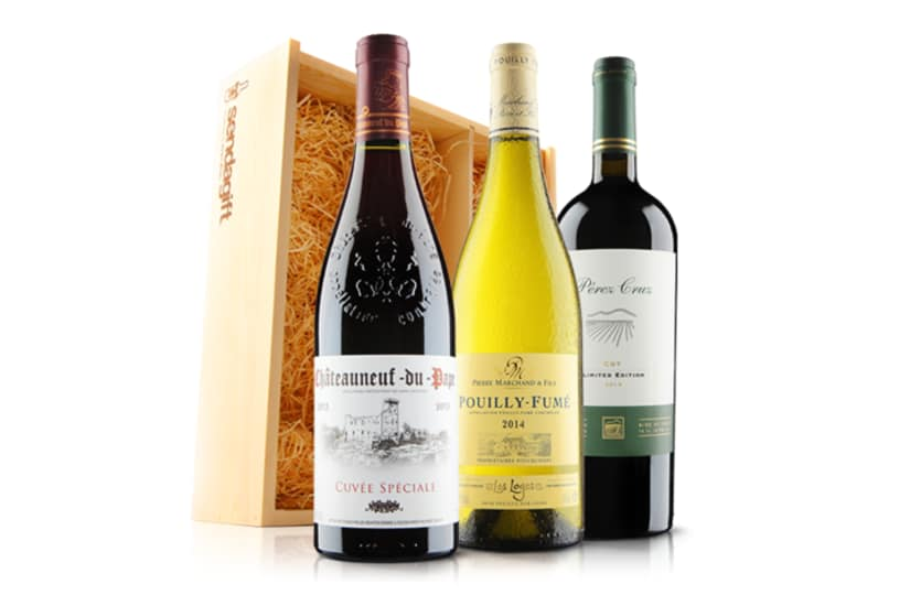 Ultimate Luxury Wine Trio including CNDP