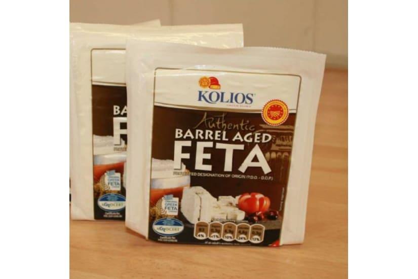 Feta, barrel aged PDO