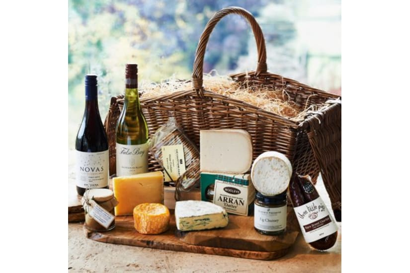 The Huntsman's - Cheese & Wine Hamper