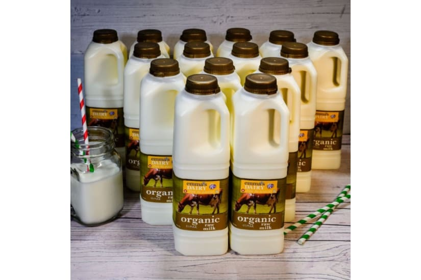 Organic Raw Milk 15 Litre - Free Delivery