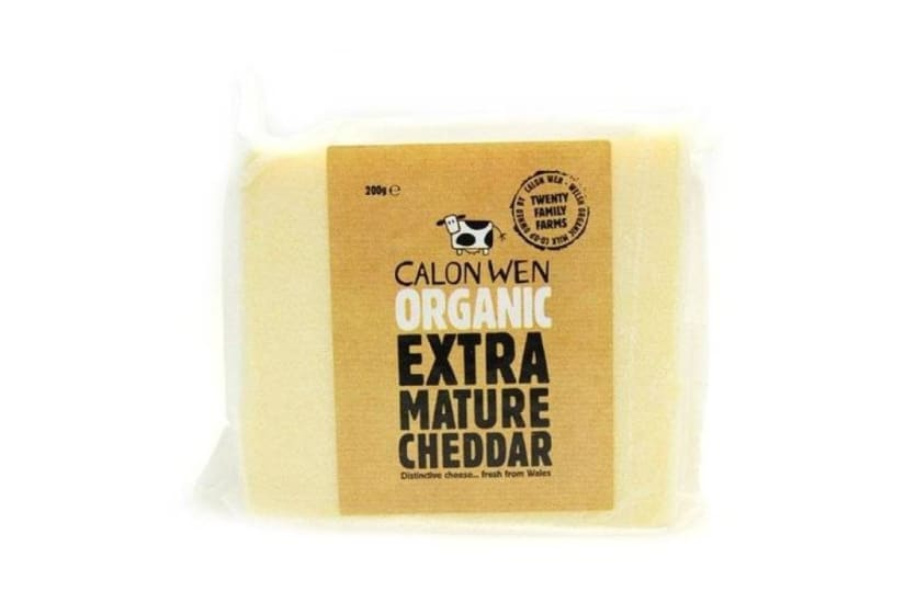 Calon Wen Organic Extra Mature Cheddar