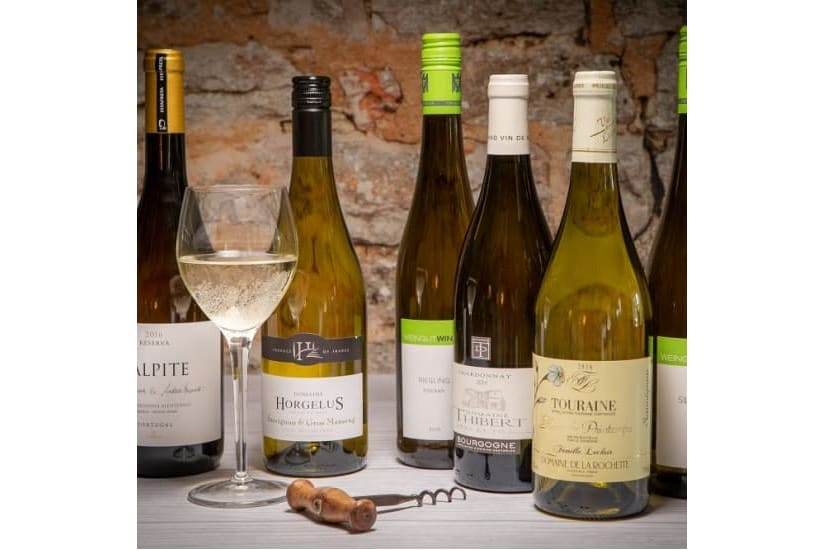 6 Whites to Intrigue and Delight (Free Delivery)