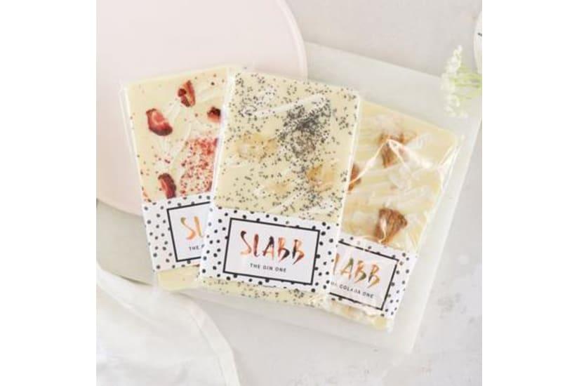 The Boozy White Chocolate Slabb Gift Set