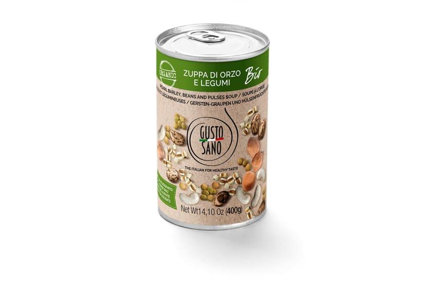 Zuppa Di Orzo e Legumi Organic