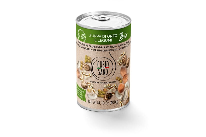 Zuppa Di Farro e Legumi Organic