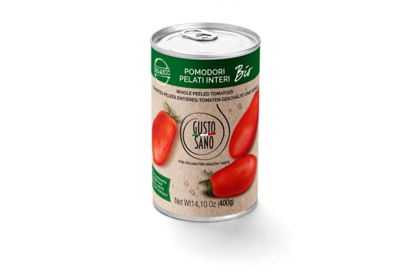 Pomodori Pelati Interi (Peele Plum Tomatoes) Organic
