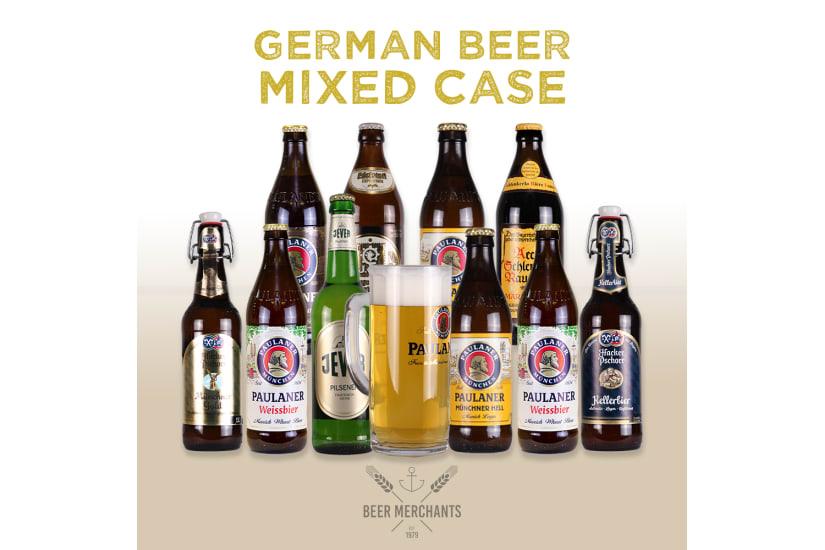 German Beer Case (10 Beers & a Free Glass)