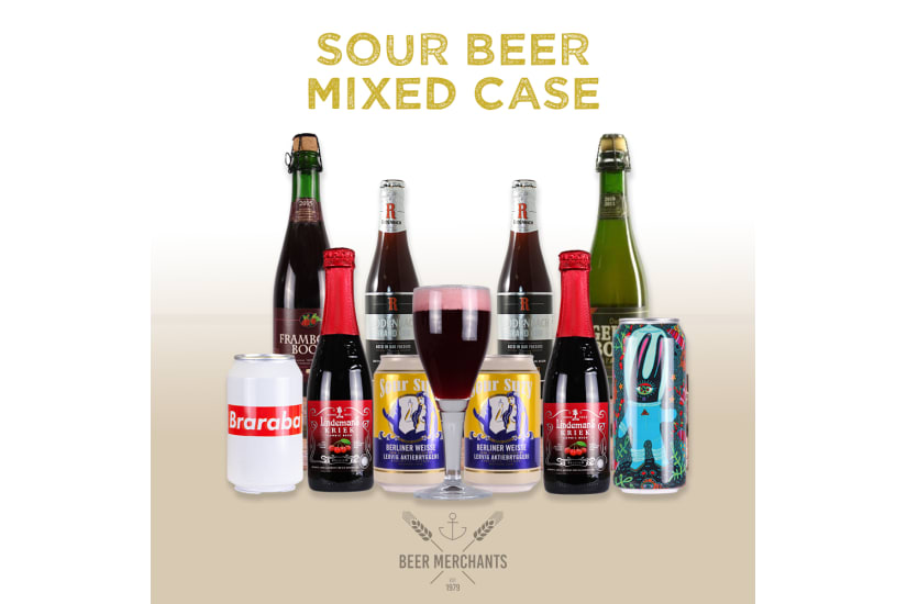 Sour Beer Mixed Case (10 Beers & a Free Glass)