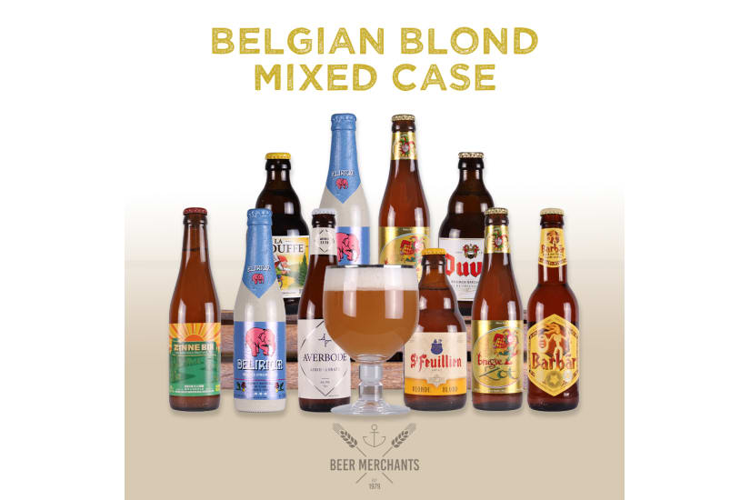 Belgian Blond Mixed Case (10 Beers & a Free Glass)