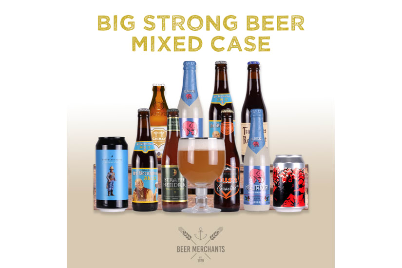 Big Strong Beer Case (10 Beers & a Free Glass)